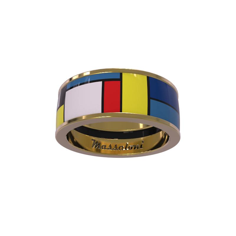 Кольцо GEOMETRIA Серебро 925